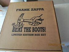 FRANK ZAPPA 8LP 33RPM BEAT THE BOOTS BOX SET (Limited Edition)