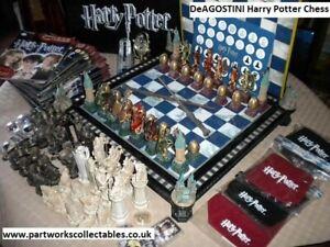 DeAGOSTINI Harry Potter Chess Used