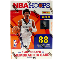 2020-21 Panini NBA Hoops Basketball Blaster Box, 88 Trading Cards - NEW/SEALED