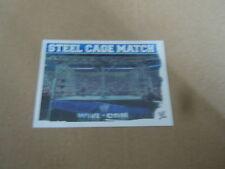 Carte catch Slam Attax Mayen 2010 Bleu - Stell Cage Match