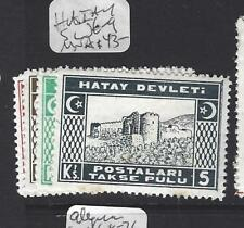 HATAY TURKEY  (P0809B)   POSTAGE DUE SC J6-9   MNH