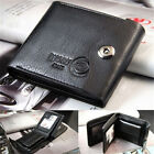 Fashion Bifold Card Holder Wallet Mens Leather Credit/ID Genuine Slim Purse Gift