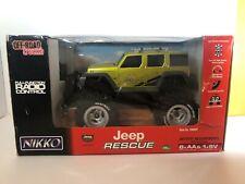 Nikko Off-Road Truck'n Jeep Rescue Radio Control 2005 1:18 Scale Brand New