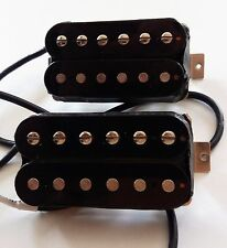 NEW SET GIBSON 490R 490T black pour guitare Les Paul, SG, Flying...