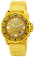 Ritmo Mvndo Mundo 314 Yellow Hercules Ladies Mens Unisex Aluminum Watch NEW