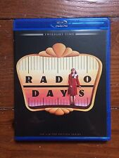 Radio Days (Blu Ray, 2014) Twilight Time Limited Edition Woody Allen