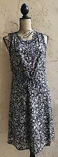 LUCKY BRAND WOMEN'S SUNDRESS NEW S RAYON CASUAL ABOVE KNEE MINI SLEEVELESS BLACK