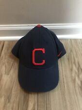 Nike Cleveland Indians Hat Baseball Cap Blue