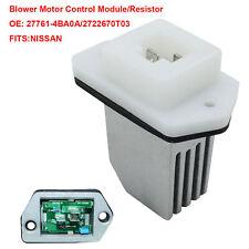 Repair Blower Motor Regulator Resistor 2722670T03 for Nissan NV1500 Rogue Sentra