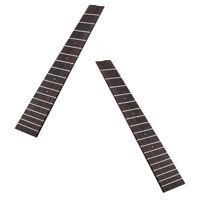 2 Pcs Ukulele Fretboard Fingerboard 18 Frets For Tenor Ukulele 26 inch