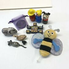 Junk Drawer Lot Kids Collectibles Fisher Price POG Marble Animal Figurine Etc