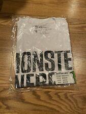 Monster Energy Promo Block Tee Shirt - Size Medium - Brand New In Bag