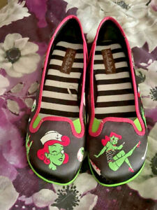 HOT CHOCOLATE SHOES Hungry ghouls HCD SIZE 37
