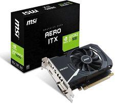 MSI NVIDIA GeForce GT 1030 AERO ITX 2G Video Card Gaming