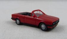 BMW 325 i Cabrio rot Wiking 1:87 H0 ohne OVP [SU1]