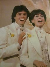 Donny and Marie Osmond, Fantasy Island, Double Full Page Vintage Pinup
