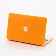 Rubberized Laptop Shell Cut-out Cases for Mac Book MacBook Cover Hard Skin Case
