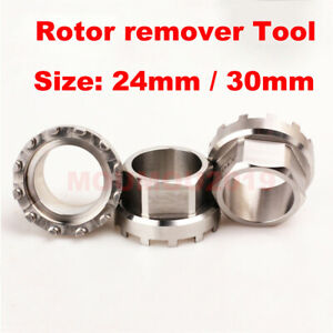 Remover Tool Steel for REX 3D 3DF 30/24mm Axle Rotor 2inpower Bicycle Crank Tool