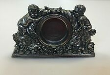 Lenox Desk Clock Kirk Stieff Pewter Angels For Replacement