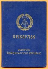EAST GERMANY (GDR/DDR), PASSPORT, BITTERFELD, 1972. (C091)