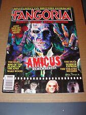 FANGORIA Magazine #305 / 2011 Amicus retro look NECROPHAGIA Satanic Sluts Poster