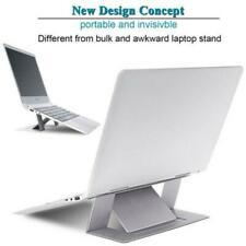 Gray Adjustable Invisible Portable Folding Laptop Stand for MacBook Pro/Air