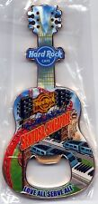 Hard Rock Cafe SENTOSA SINGAPORE City T-Shirt Guitar Bottle Opener Magnet