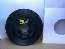 Old 45 RPM Record - Dot 45-16244 - Pat Boone - Big Cold Wind / That's My Desire
