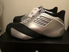 "Brand New DS Adidas T-Mac 1 ""All-Star"" Retro Men's Size 11 Silver/Black TMAC"
