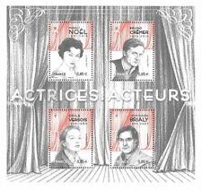 Frankreich Mi.Nr. Block 381** (2017) postfrisch/Schauspieler