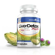 Liver Detox Plus VitaCholine 60 Diet Cleanse Capsules Evolution Slimming