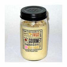 Swan Creek 100% Soy 24 Oz. Jar Candle - Vanilla Pound Cake