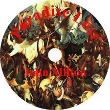 Paradise Lost, John Milton Bible Christian Audiobook on 9 Audio CDs Free Ship