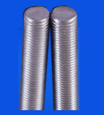 2 PACK THREADED BAR / ROD / STUDDING  M8 x 500mm ZINC PLATED