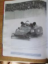 Conquête de l'hiver CLUSIAU  2002 Motoneige Snowmobile Gilles Villeneuve