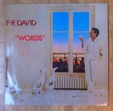 F.R. DAVID Words LP/GER