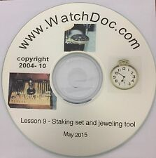 Introduction to the Watchmaker's Staking Set and Jeweling Tool with Videos