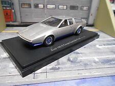 AUDI 100 Coupe S Coupe Speciale silber FRUA Ital Design Studi 1974 Autocult 1:43
