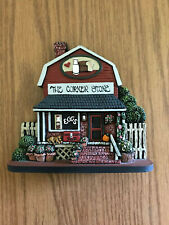 """Brandywine Collectibles """"The Corner Store"""" Shelf Sitter; Signed w/ Box #494"""
