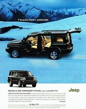 PUBLICITE ADVERTISING 027  2006  la nouvelle Jeep Commender  D V6  7 places