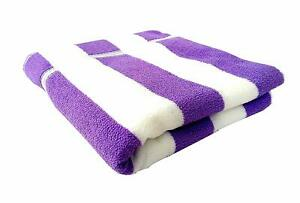 Towels Space Fly Microfiber Bath and Hair Towel Set One Piece Striped
