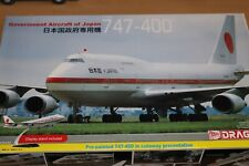 DRAGON BOEING 747-400 GOVERNMENT AIRCRAFT OF JAPAN 1/144 SCALE CUTAWAY MODEL KIT