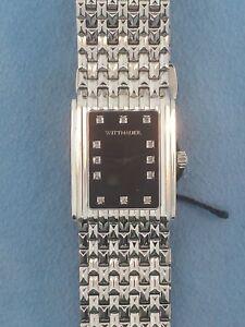 STUNNING BRAND NEW 12 DIAMOND LADIES WITTNAUER QUARTZ WATCH WN4091