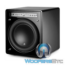 "JL AUDIO F112V2 GLOSS 12"" FATHOM HOME ENCLOSED W7 SUBWOOFER SPEAKER AMPLIFIER"