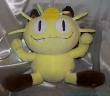 "1999 Hasbro Tomy Huge 18"" Plush Nintendo Yellow Pokemon Jumbo Meowth Scratch Cat"