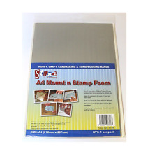 Stix 2 A4 Mount n Stamp Repositionable Adhesive Foam Sheet Acid Free Craft 57244