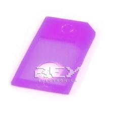 4x Adaptador de tarjeta Micro SIM a SIM para Teléfonos Móviles Morado 4xr23
