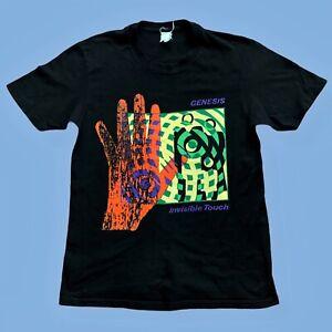 GENESIS Vintage Official 1987 Invisible Touch Tour T Shirt Phil Collins