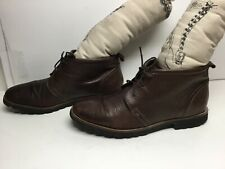 VTG MENS ROCKPORT BY ADIDAS CASUAL BROWN BOOTS SIZE 11