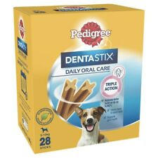 Pedigree Dentastix Small Dog Treats Daily Oral Care Dental Chews 28 pack